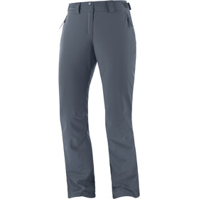 Salomon The Brilliant Broek Dames, ebony